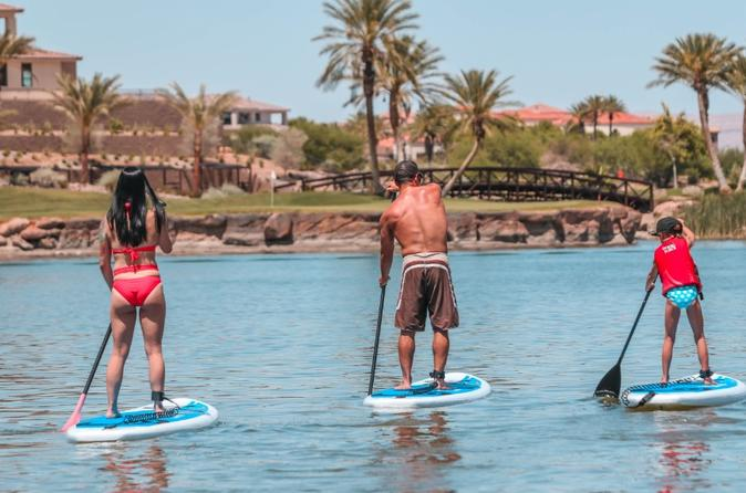1 or 2 Hour Paddleboard Rental at Lake Las Vegas