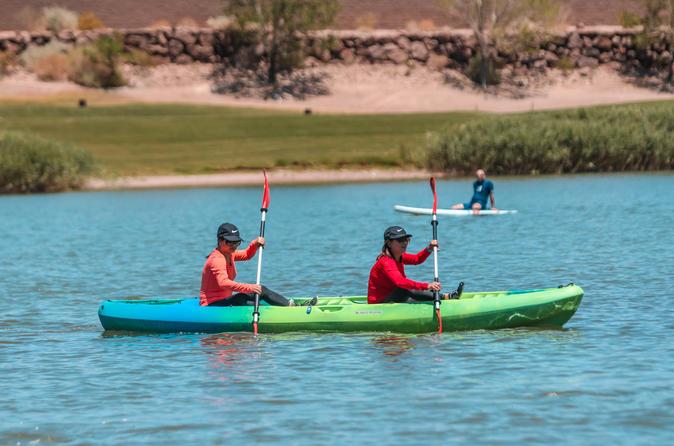 1 or 2 Hour Tandem Kayak Rental at Lake Las Vegas
