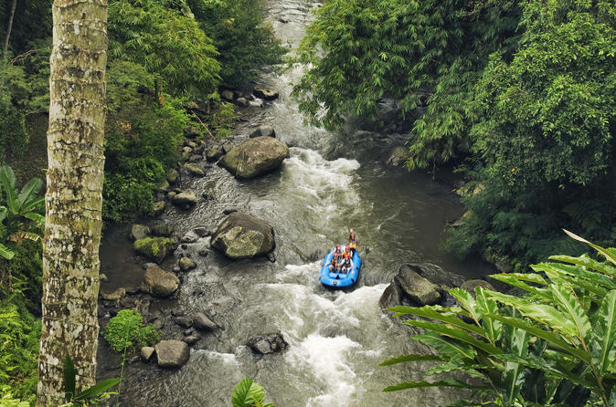 Ayung River Rafting In Ubud Including Buffet Lunch And Transfers