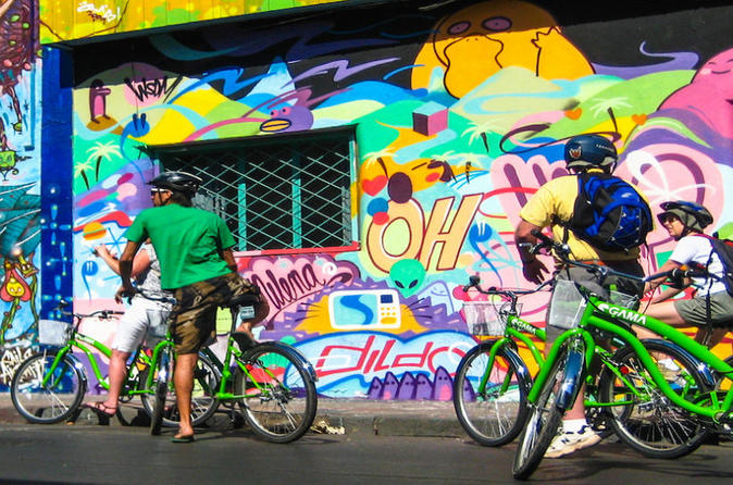 Santiago Bicycle Tour via Small Group: Parks, Markets and More