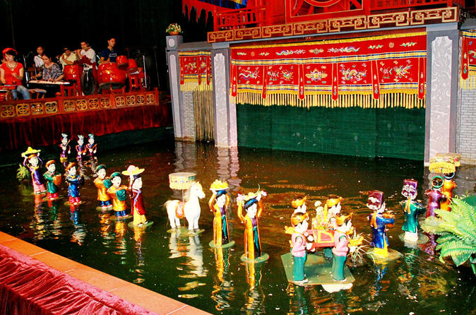 Water Puppet Theater Entrance Ticket with Tickets Delivery to hotels