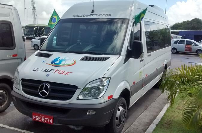 Departure Transfer: Porto de Galinhas, Muro Alto or Serrambi to Recife Airport