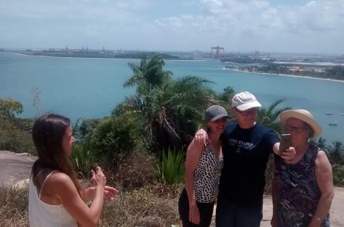 Tour of 4 Beaches in Cabo de Santo Agostinho from Recife