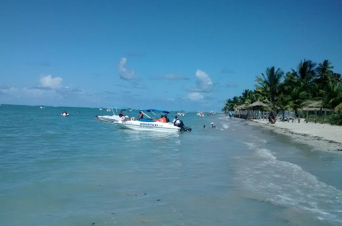Viagem diurna para a Praia dos Carneiros a partir de Boa Viagem, Pina ou Piedade