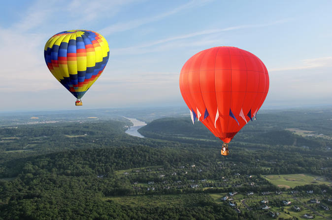 Bucks county hot air balloon ride in new hope 213943