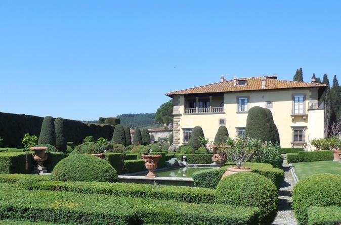 Hills of Settignano Walking Tour and Villa Gamberaia Visit