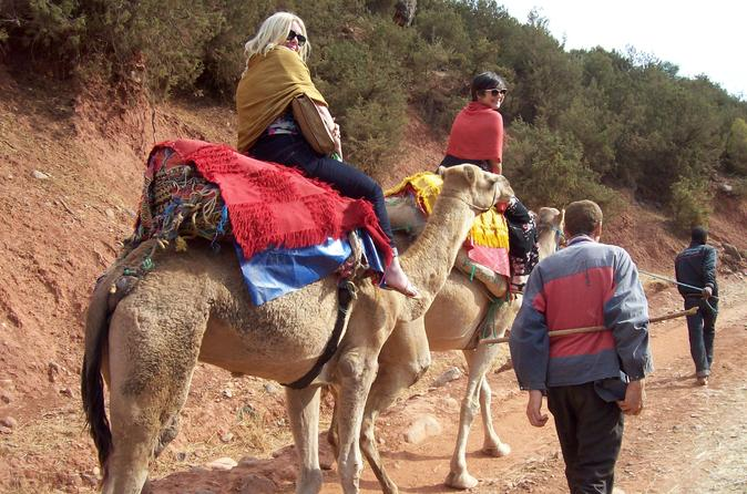 Private High Atlas Mountains Day Trip from Marrakech with Camel Ride