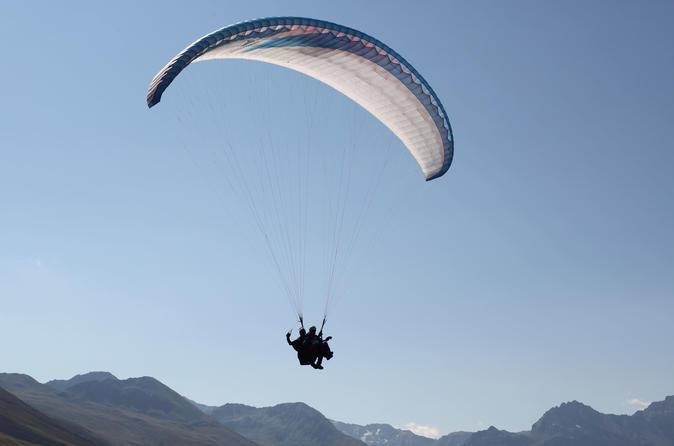 Paragliding tandemflight in davos in davos 207100