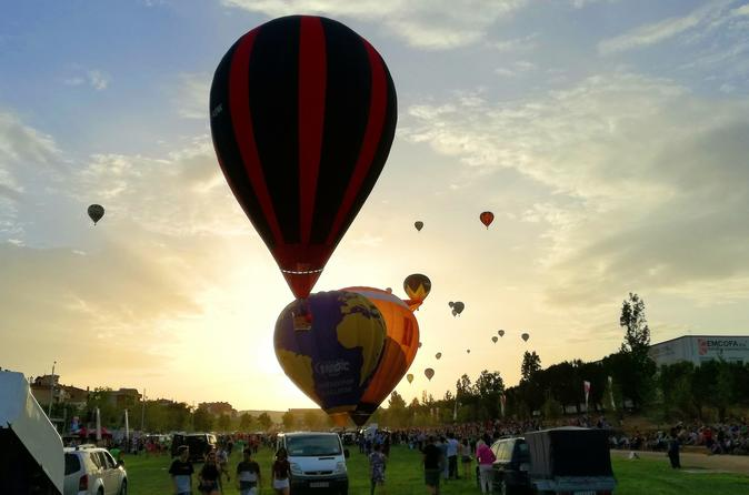 European Balloon Festival flight from 11th to 14th July