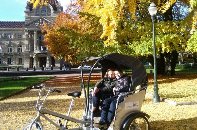 30 minute sightseeing tour of strasbourg by pedicab in strasbourg 238043