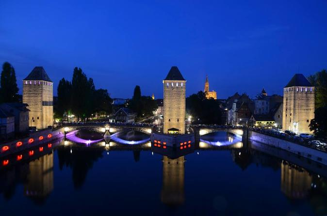Private night sightseeing tour of strasbourg by pedicab in strasbourg 212655