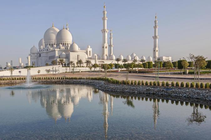 Excursão turística a Abu Dhabi: Mesquita Sheikh Zayed, Heritage Village e Souk