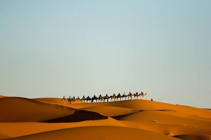 Camel Treks in the Moroccan Desert departing from Merzouga