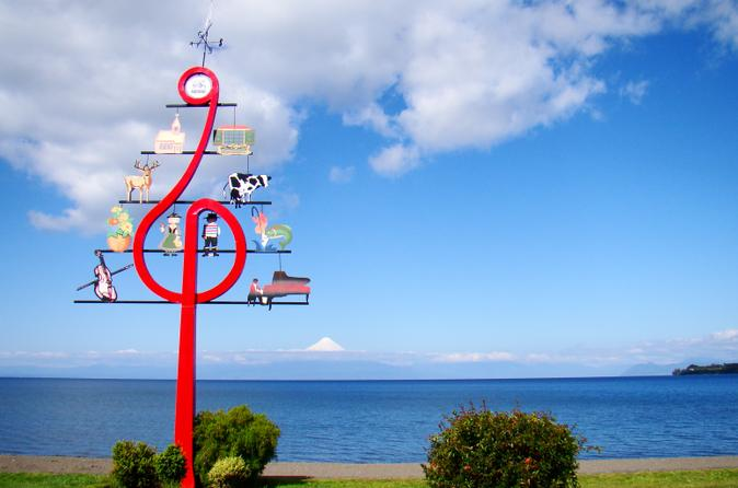 Day Tour to The Border of Llanquihue Lake and Osorno Volcano from Puerto Varas
