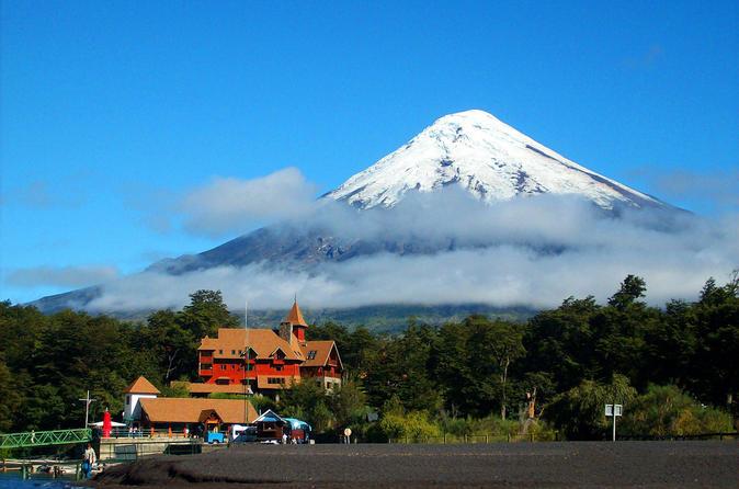 Excursão ao Vulcão Osorno saindo de Puerto Varas