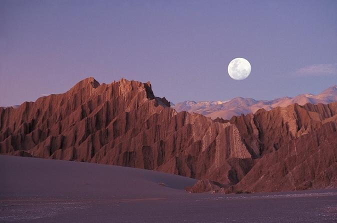 Excursão à tarde pelo Vale da Lua
