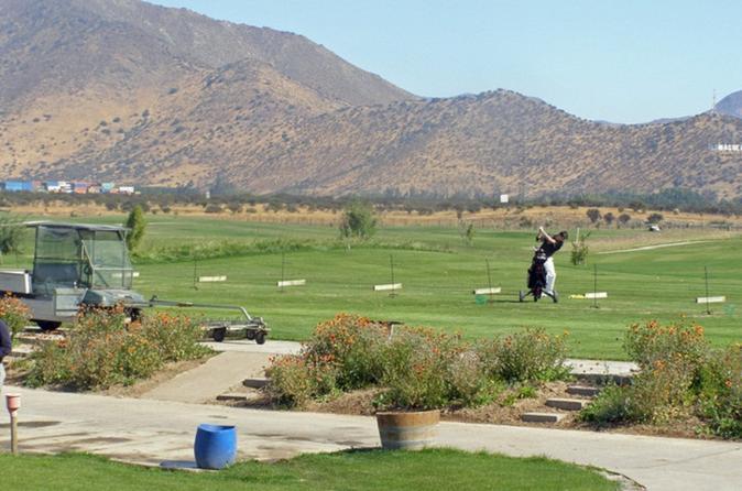 Mapocho Golf Club from Santiago