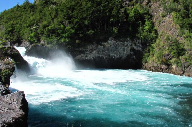 Petrohue Falls from Puerto Montt