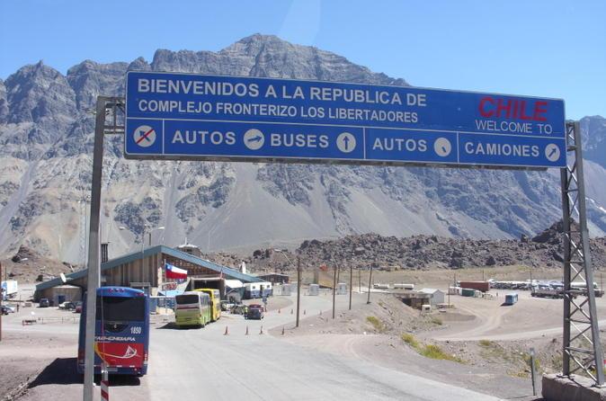 Private Scenic Transfer from Santiago to Mendoza