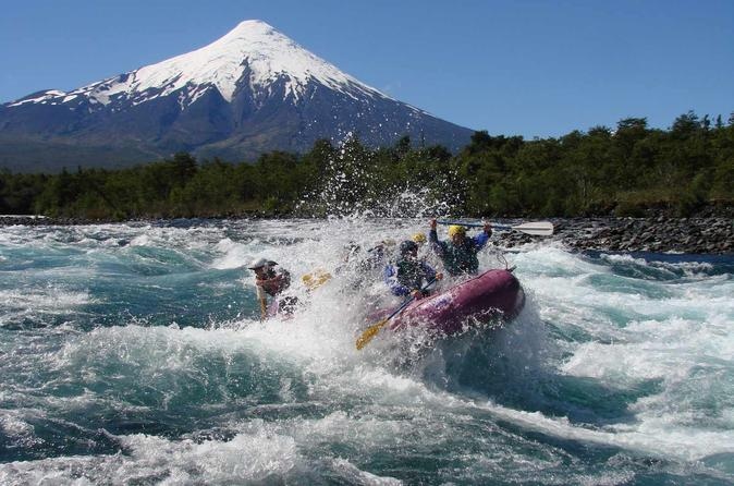 Rafting at Petrohue River from Puerto Montt