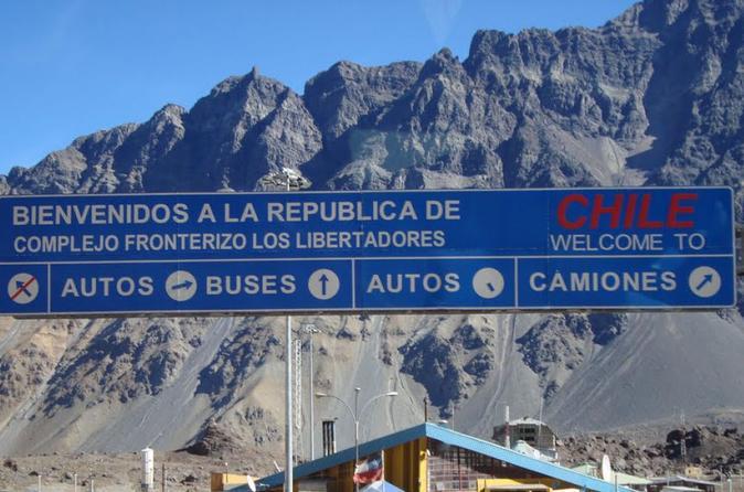 Traslado panorâmico privado de Mendoza para Santiago