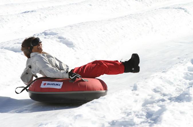 Viagem de um dia com neve para o Centro de Esquis de Colorado saindo de Santiago