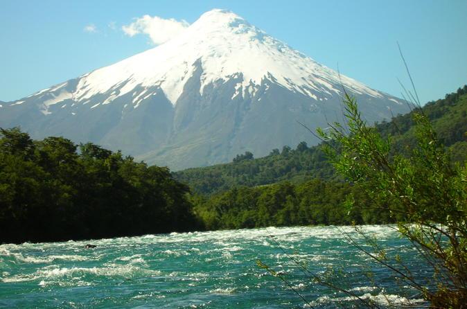 Viagem de um dia para o Vulcão Osorno e Petrohue partindo de Puerto Varas