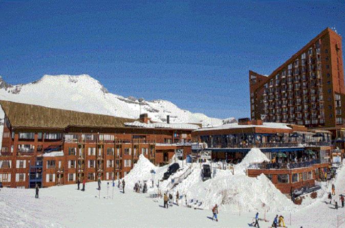Viagem diurna a Valle Nevado saindo de Santiago