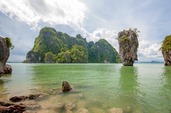 Full-Day James Bond Island Canoeing and Snorkeling Trip by Speedboat from Phuket