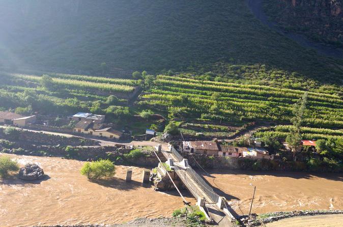 Excursão particular ao Vale Sagrado, saindo de Cusco com Moray e Pisac