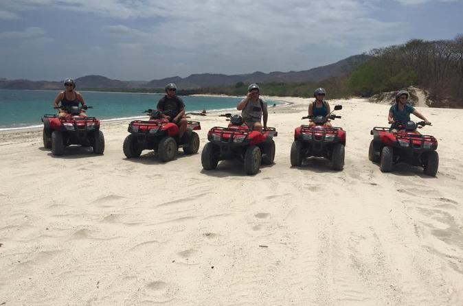 Atv mountain and beach tour from flamingo beach in playa flamingo 242883
