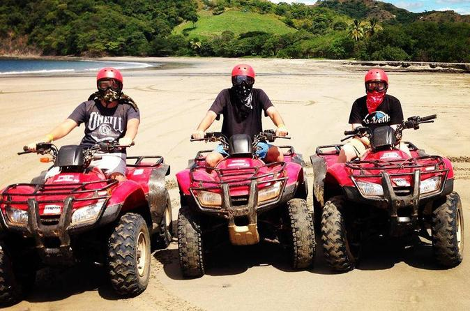 Atv mountain and beach tour from tamarindo in tamarindo 202863