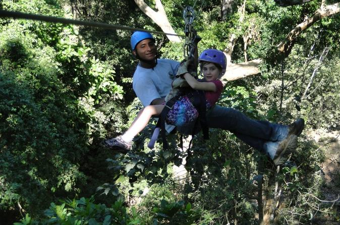 Canopy Tour from Playa Hermosa