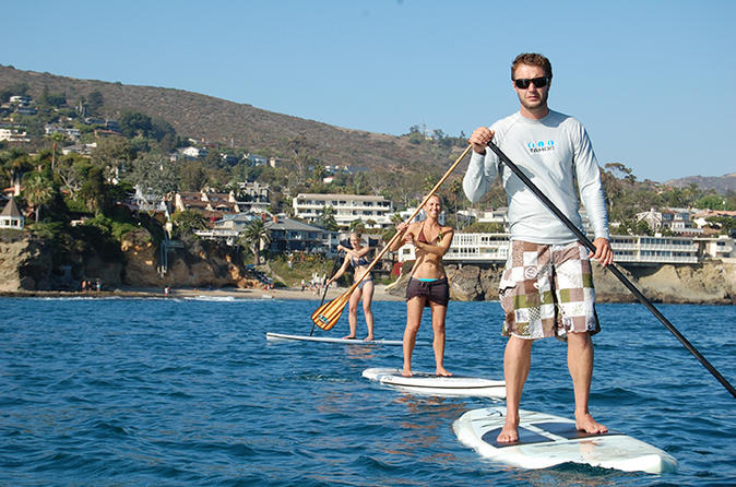 Stand Up Paddle Board Tour at Flamingo Beach