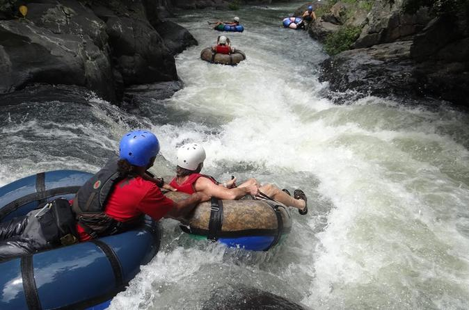 Tubing at canyon river canopy horseback ride and hot spring combo in playa hermosa 214077
