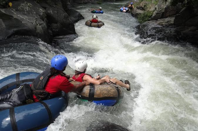 Tubing or rafting class ii and iii at rio negro from playa hermosa in playa hermosa 214077