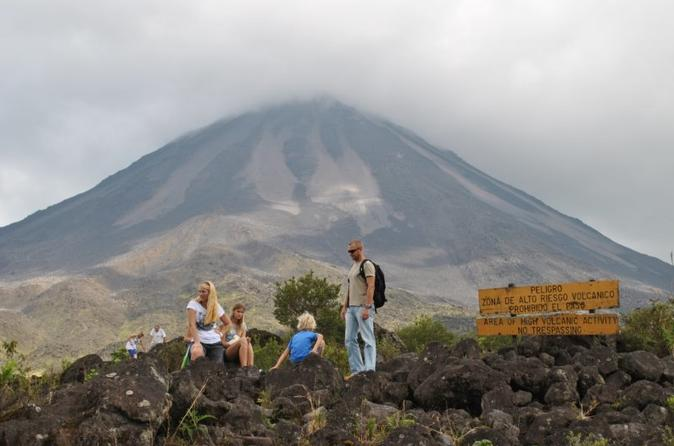 Arenal Volcano National Park Hike with Hot Springs from La Fortuna