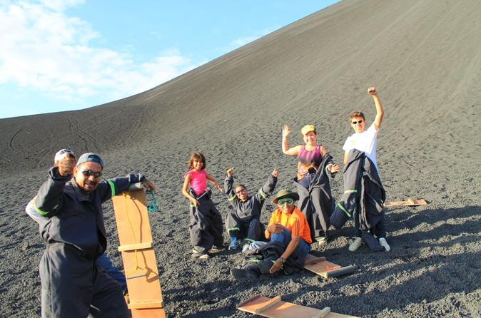 Cerro negro and volcano sand boarding from le n in le n 214985