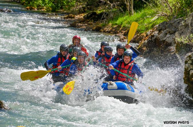 Half day rafting in verdon gorges in castellane 209342