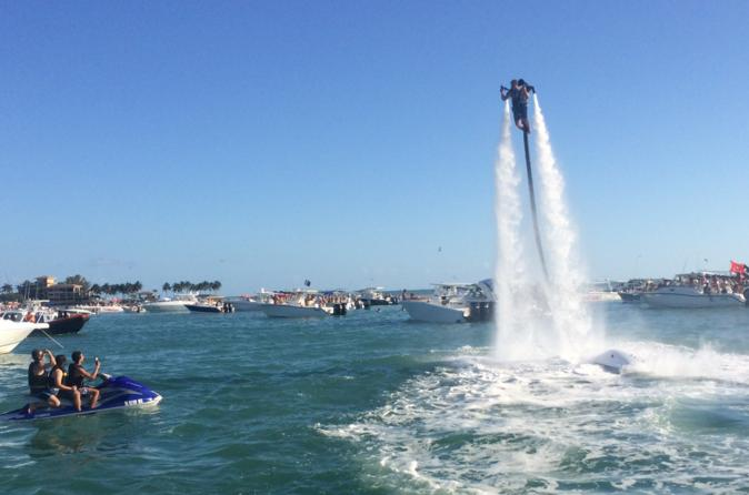 Miami JetPack Flight and Boat Tour