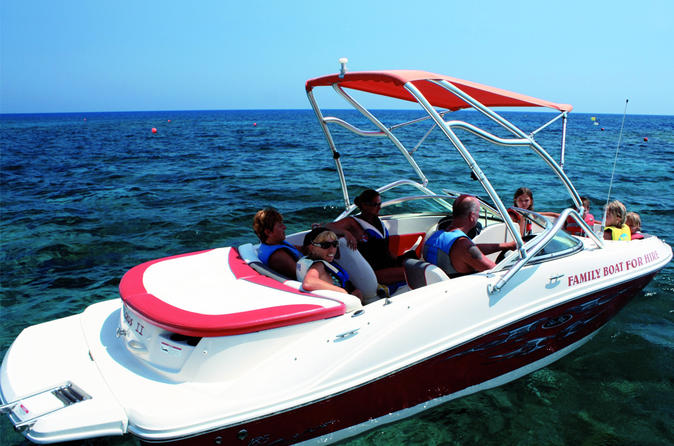 1 or 2 hour private boat hire from protaras in protaras 262220