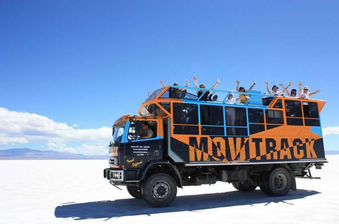 Movitrack Safari Tour to Puna, Salt Falts and Purmamarca from Salta