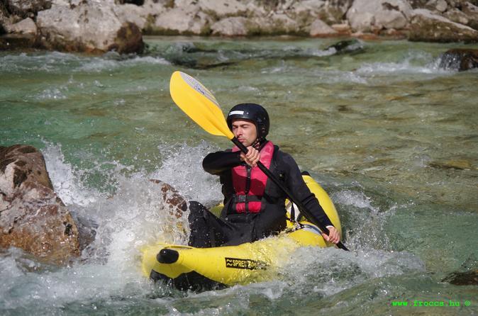 Easy kayak trip in bovec 271022