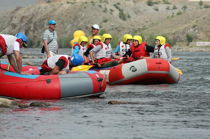 1 Day Bike & Raft Adventure Tour - Ulaanbaatar