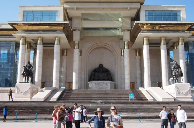 Full-Day Ulaanbaatar Sightseeing and Shopping Tour