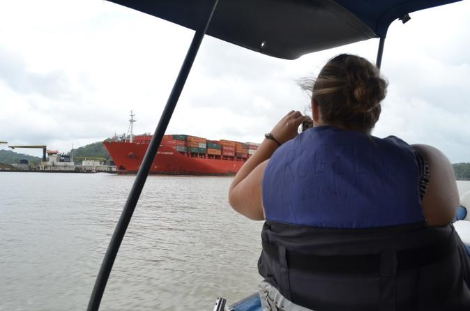 Panama Canal and Gatun Lake Jungle Eco Cruise