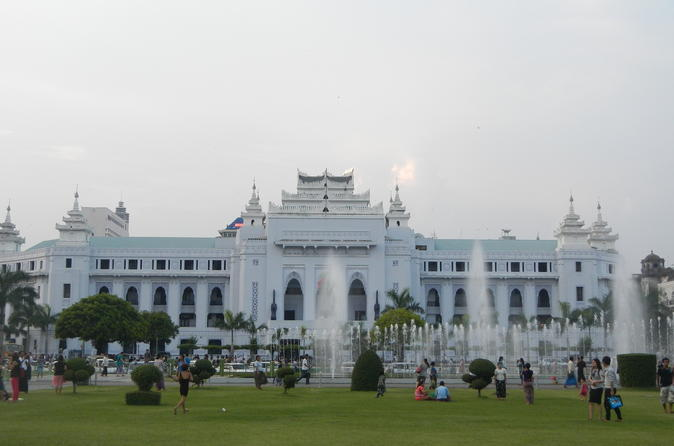 Half Day Yangon Walking Tour