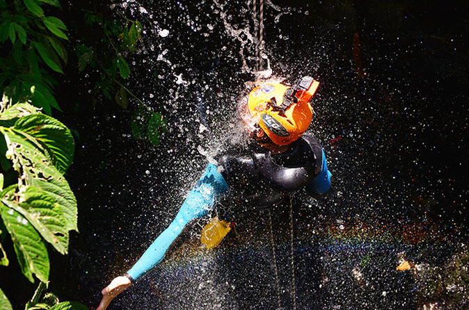 Kalimudah and Kalikecil Canyoning Day Trip from Bali