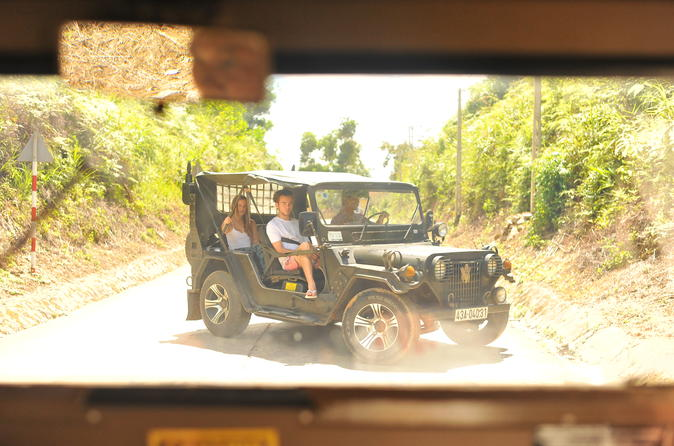 Full-Day Hue Tour by Military Jeep Including One-Way Transfer to Hoi An