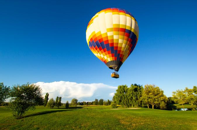 Balloon Tour Experience with Winery Visit